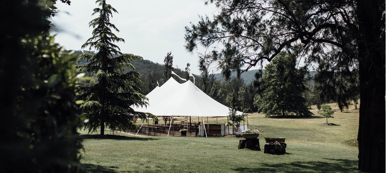 WHY A MARQUEE WEDDING?
